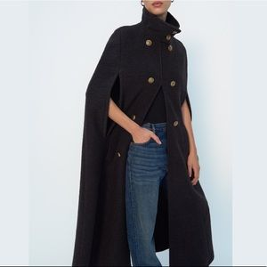 Wool Blend Cape Limited Edition XS-S